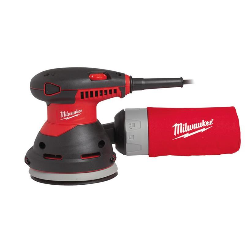 MILWAUKEE SZLIFIERKA MIMOŚRODOWA 300W 125mm ROS125E